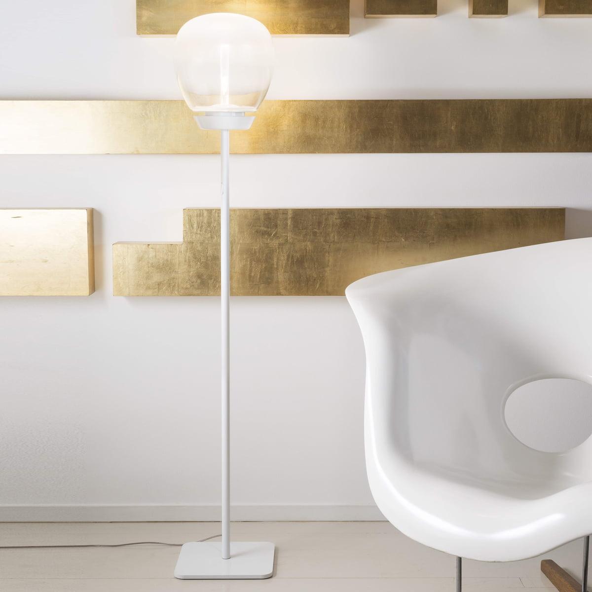 Empatia 26 led floor lamp by artemide artemide empatia 26 terra led floor lamp white aloadofball Images