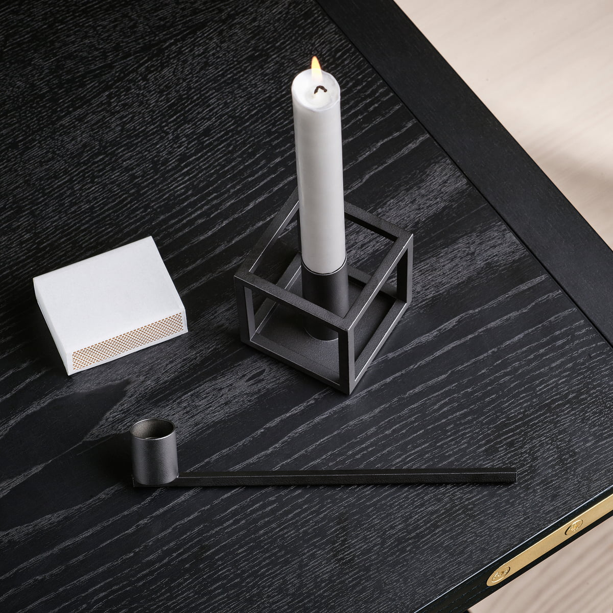 kubus candle snuffer by lassen connox. Black Bedroom Furniture Sets. Home Design Ideas