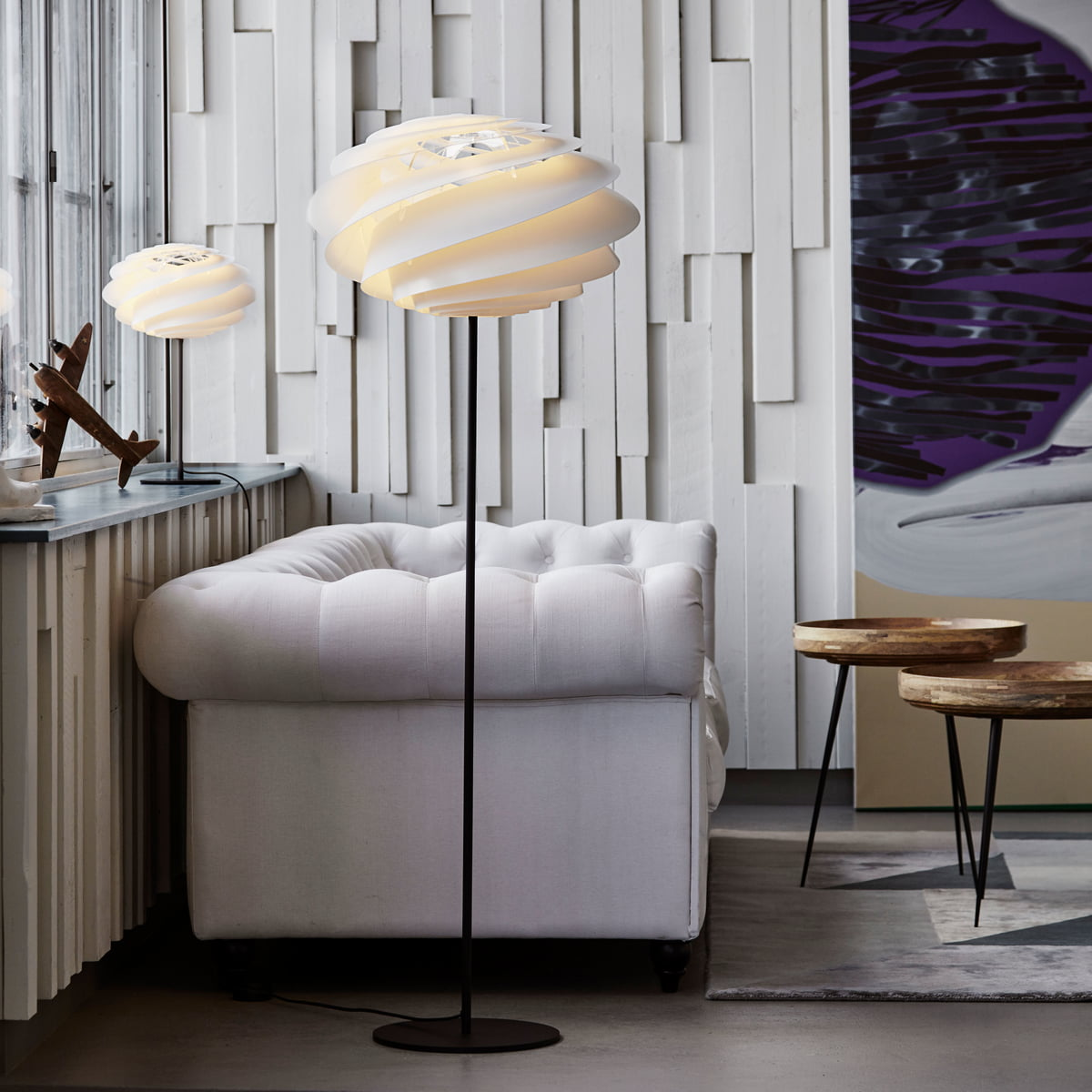 Swirl Floor Lamp by Le Klint Connox