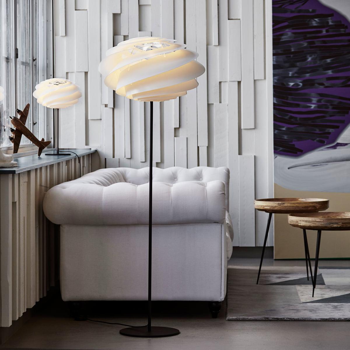 swirl floor lamp by le klint connox