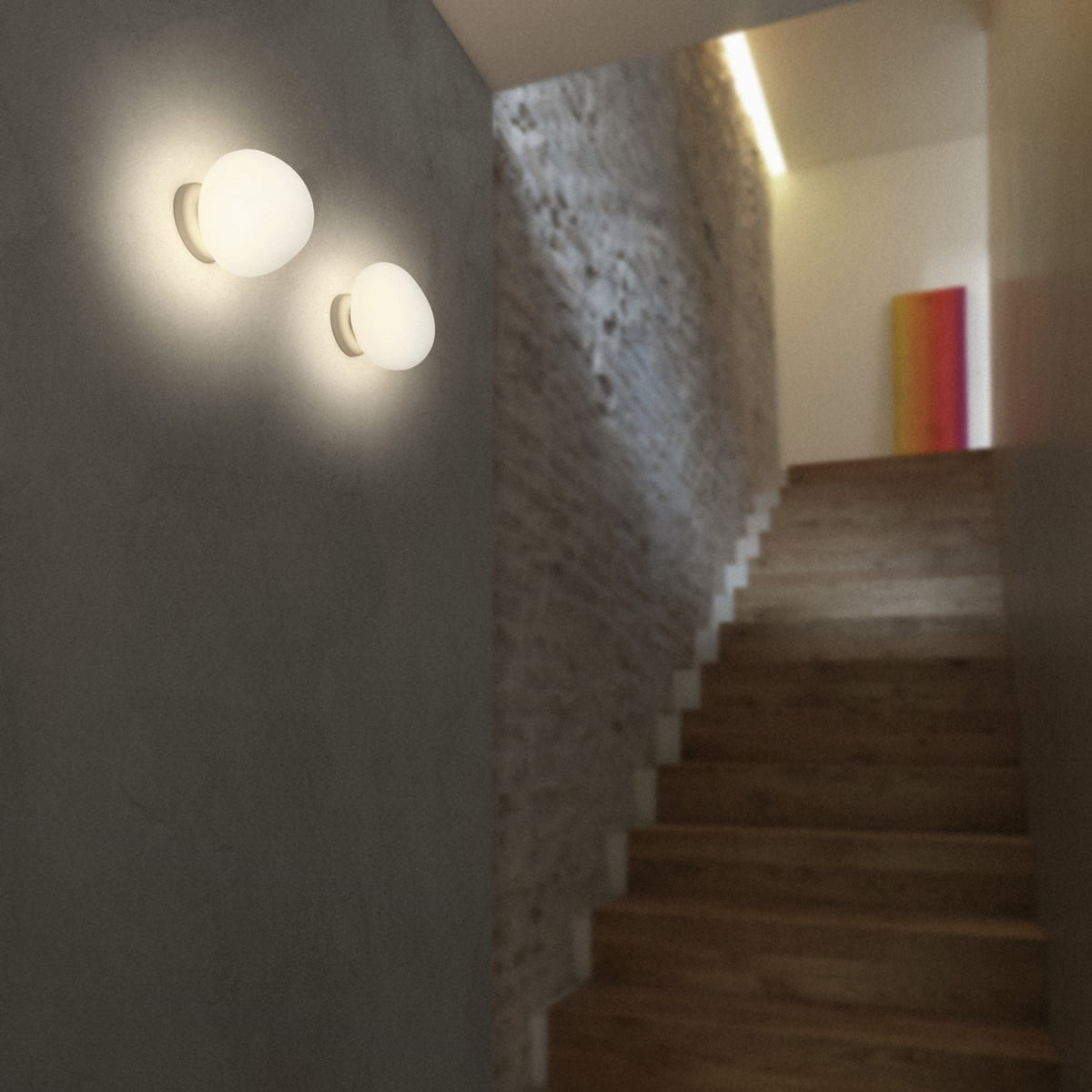Gregg wall and ceiling lamp led by foscarini connox the foscarini gregg wall and ceiling lamp led aloadofball Gallery