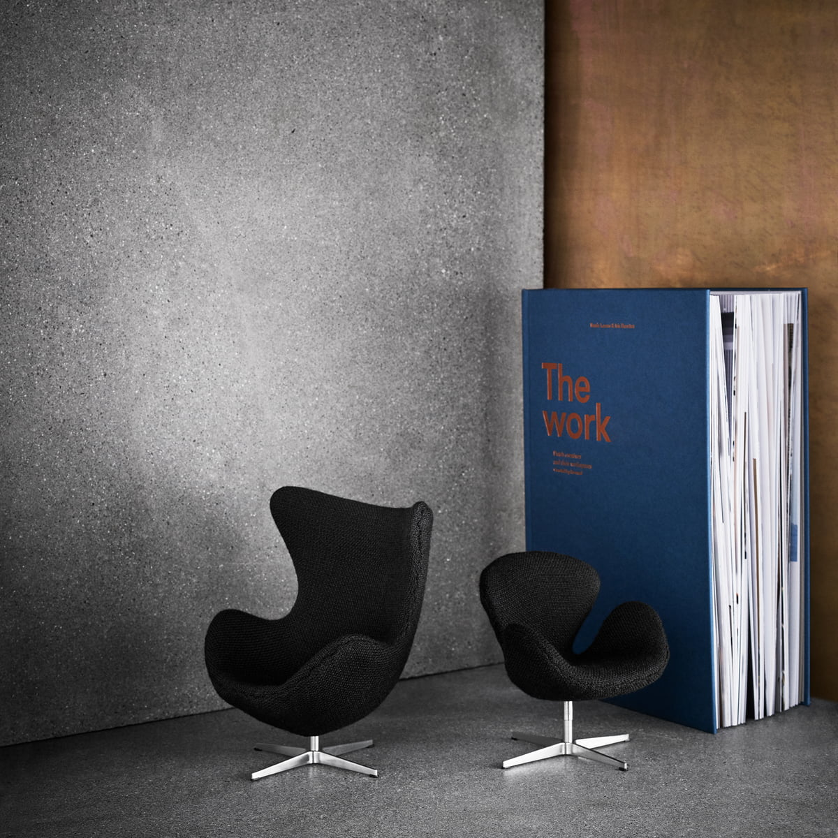 miniature egg chair by fritz hansen connox. Black Bedroom Furniture Sets. Home Design Ideas