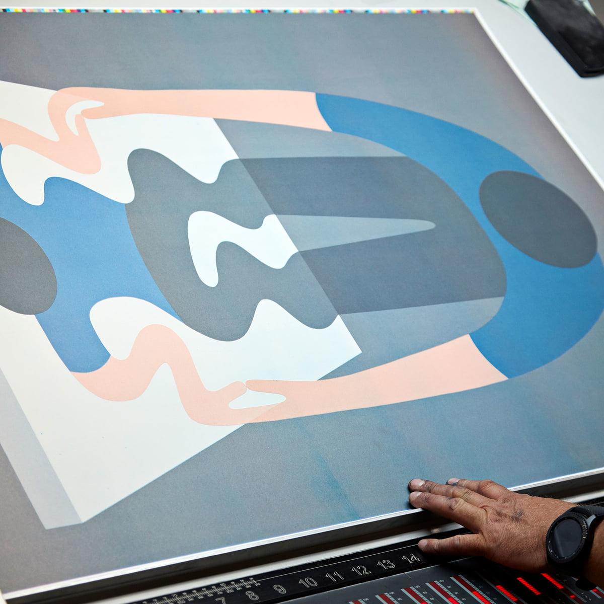 Hay Geoff Mc Fetridge Poster 70 X 100 Cm 1 Blau Herstellung
