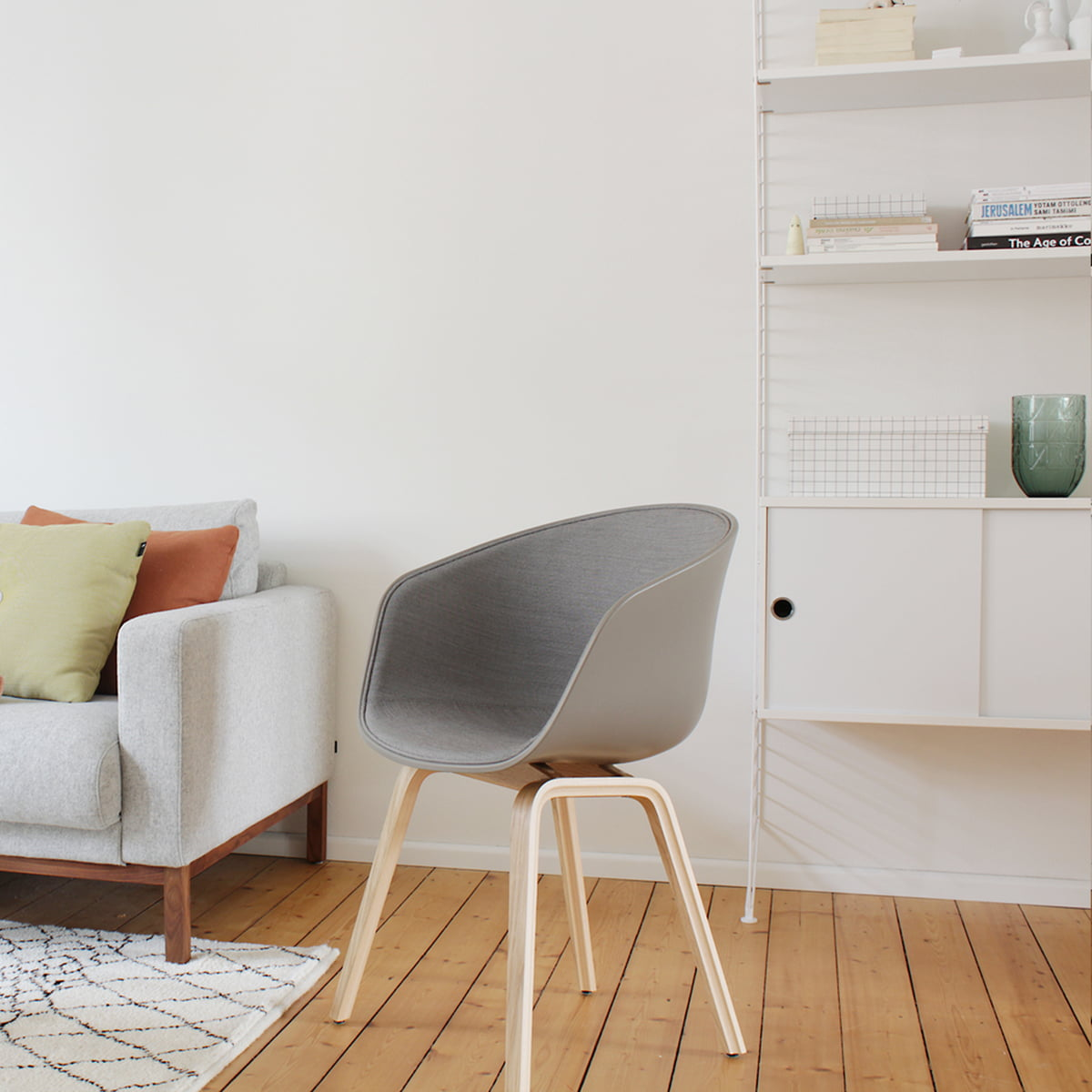 Hay about a chair aac 22 with front upholstery - Stilreich blog instagram ...
