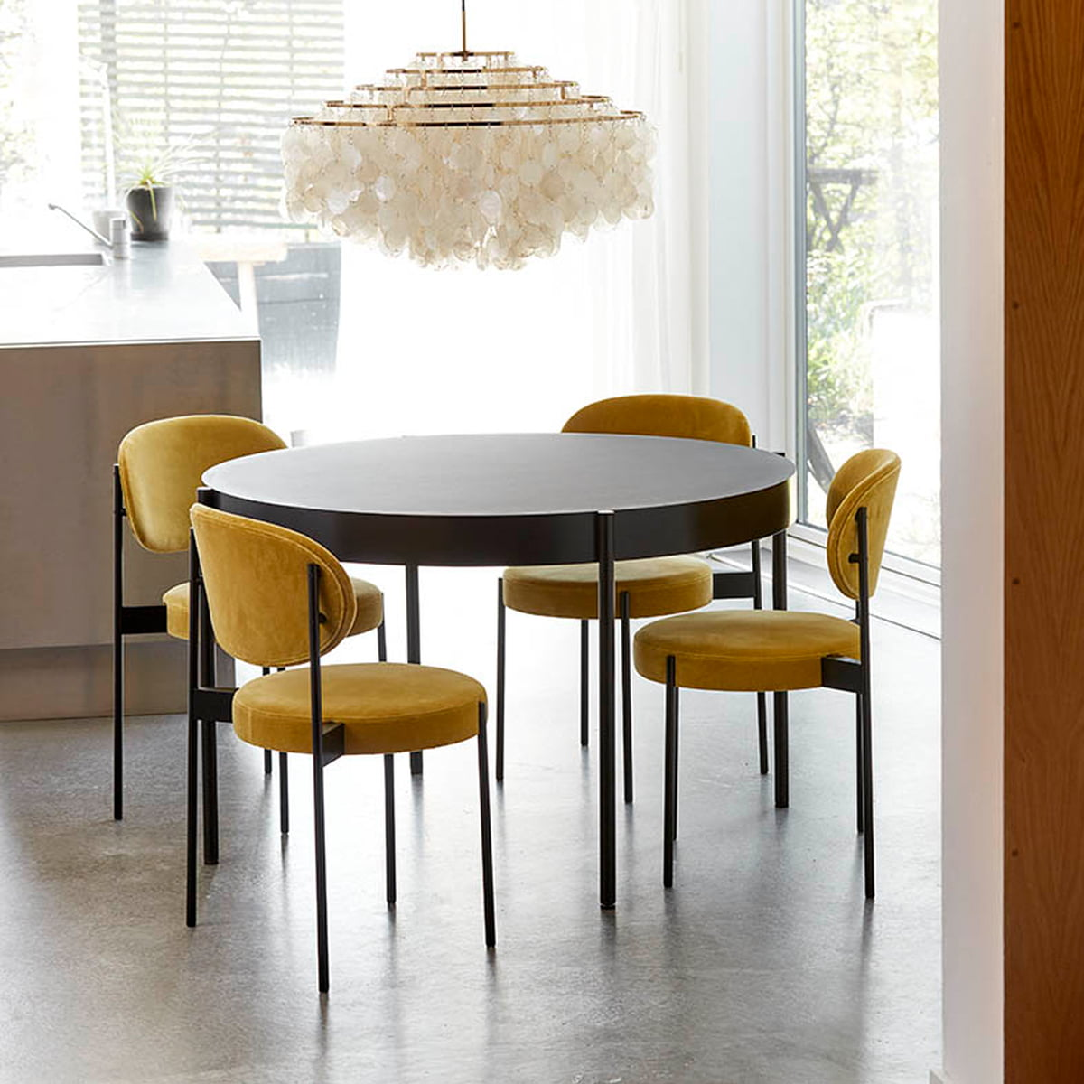 Fun Dining Room Chairs: Padded 430 Chair By Verner Panton