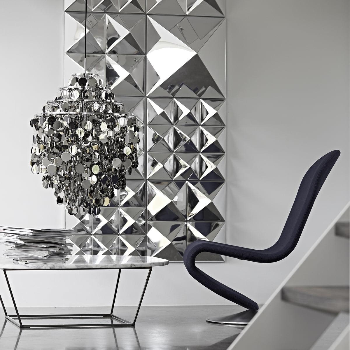 mirror wall sculpture verpan connox. Black Bedroom Furniture Sets. Home Design Ideas
