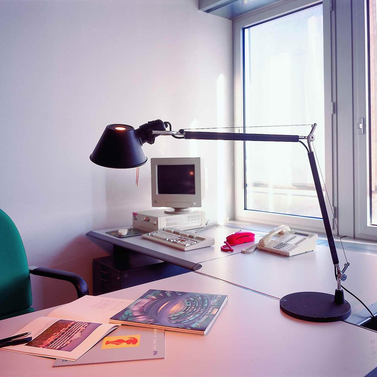 Artemide Tolomeo Tavolo Writing Table Lamp Connox