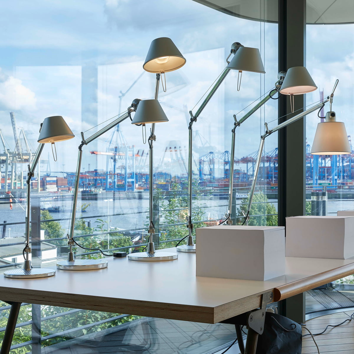 Artemide Tolomeo Tavolo Led Table Lamp