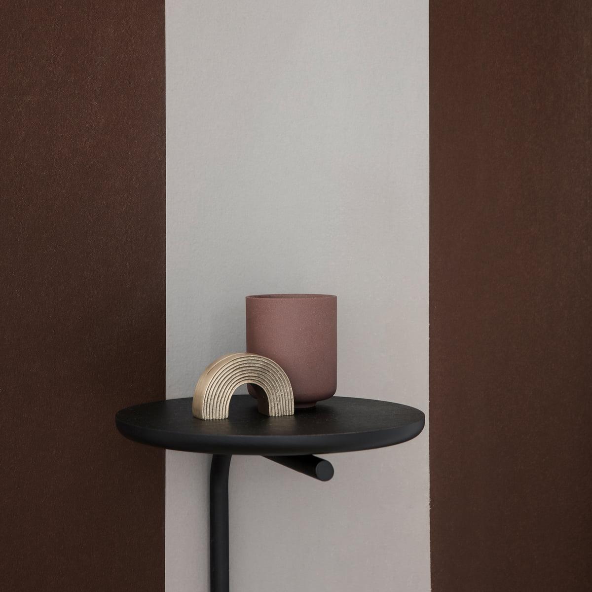Pujo Wall Shelf By Ferm Living In Black