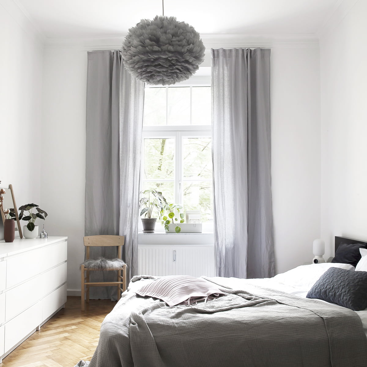 Buy the eos light grey by vita in our shop for Light grey bedroom