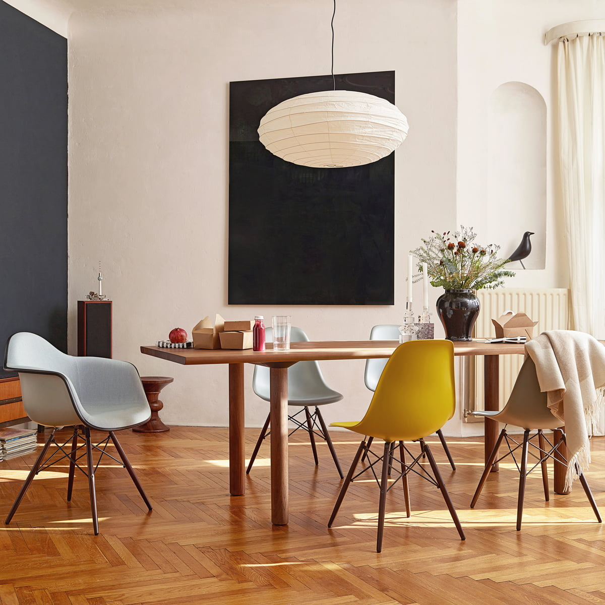 Hervorragend Eames Plastic Side Chair DSW By Vitra