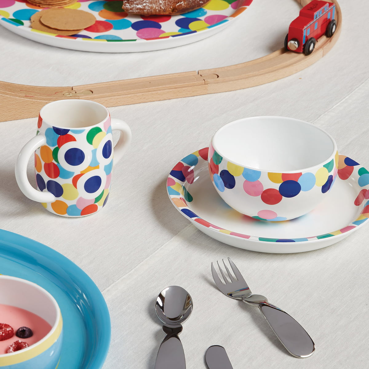 Alessini Kindergeschirr Proust by Alessi  sc 1 st  Connox & Alessini Tableware for Children Proust by Alessi | Connox