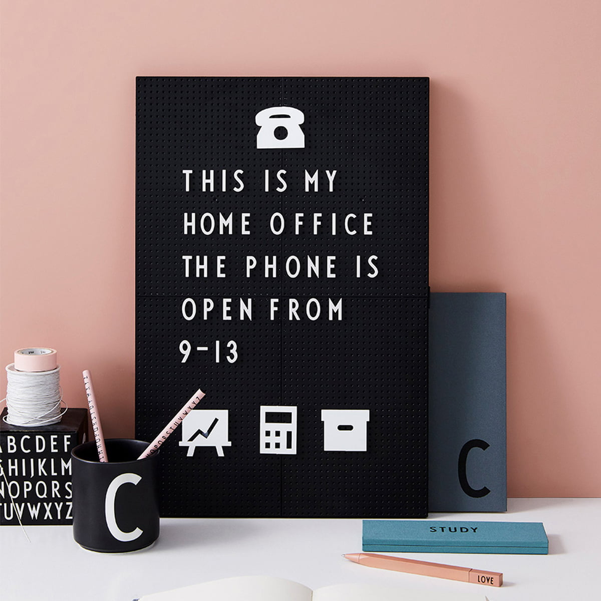 Message Board By Design Letters  Connox
