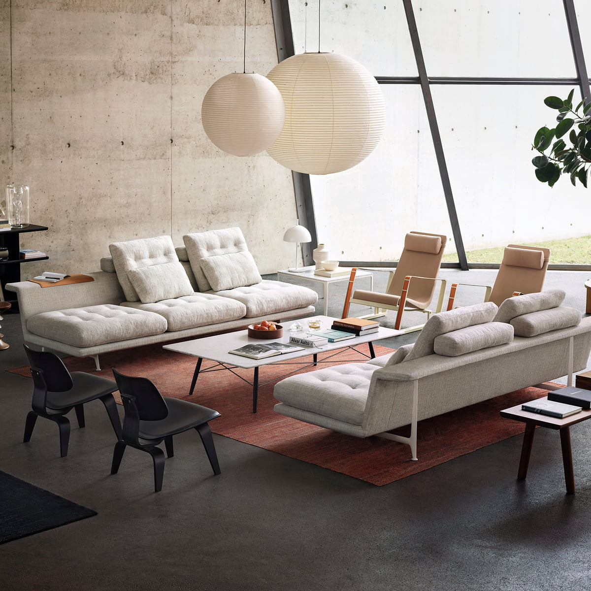 Grand Sofa Antonio Citterio Vitra Connox