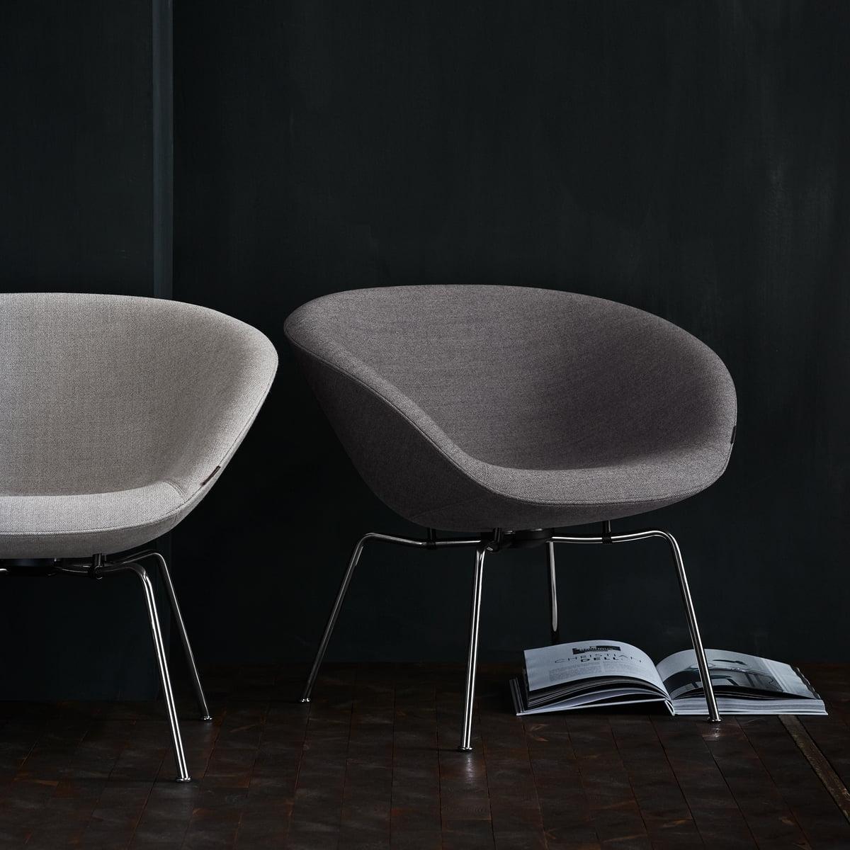 pot chair by fritz hansen connox. Black Bedroom Furniture Sets. Home Design Ideas