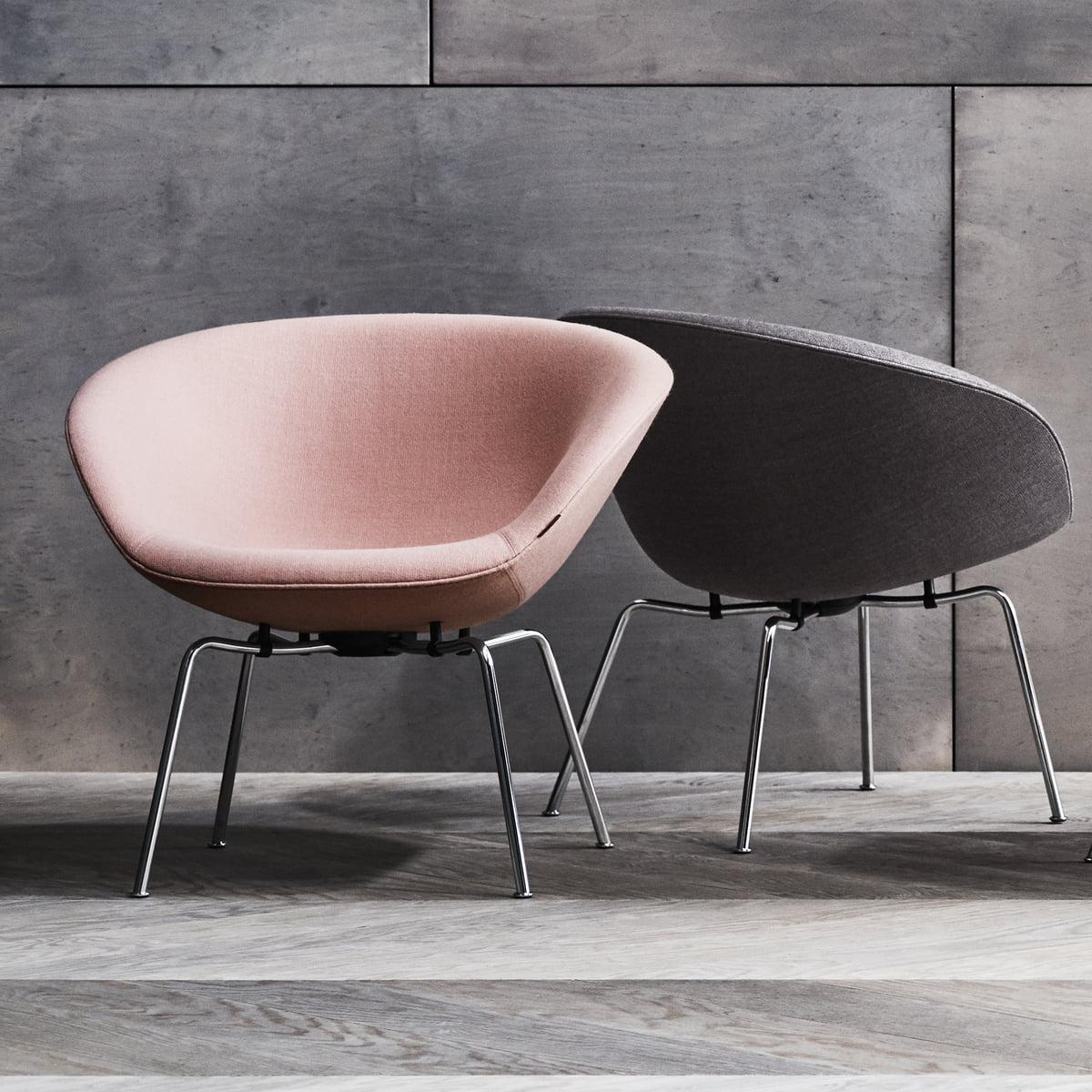 Pot Chair By Fritz Hansen Connox