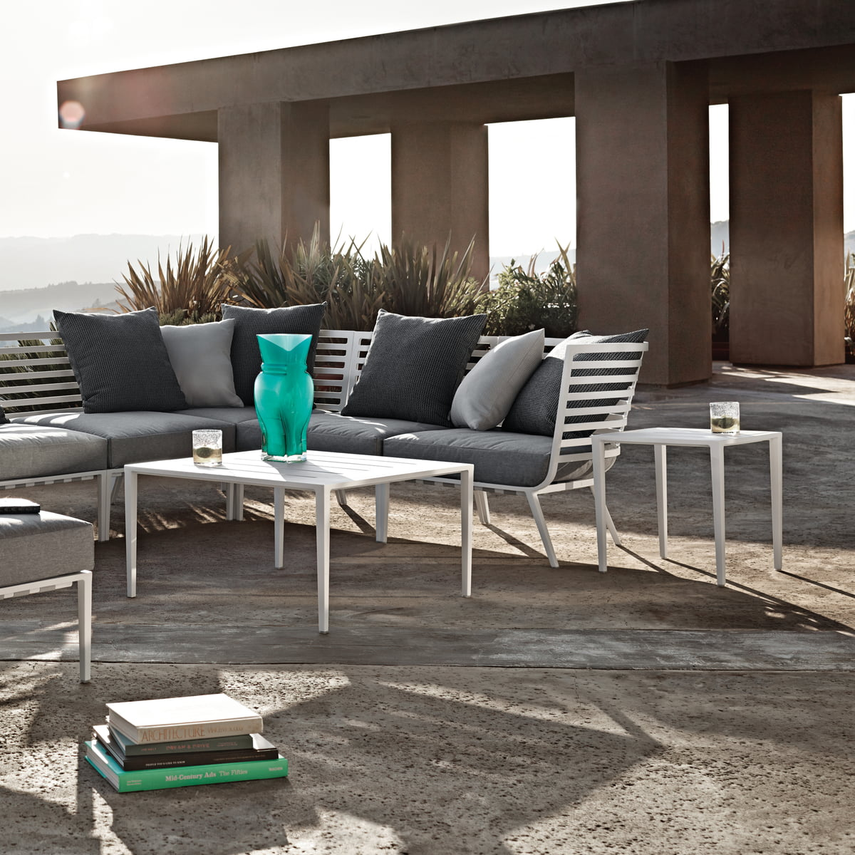 Outdoor Lounge Sofa Vista By Gloster Connox