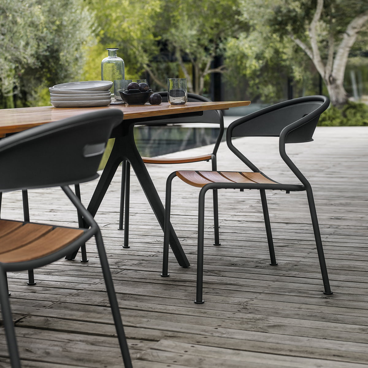 The gloster curve chair