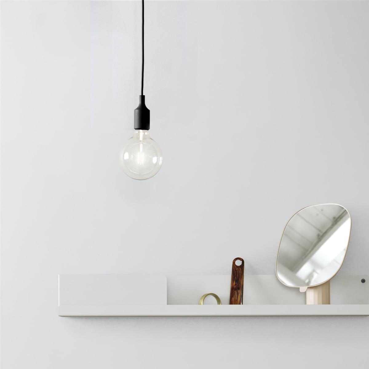 Socket E27 Pendant Lamp LEDwhite Muuto rxoCdeBW