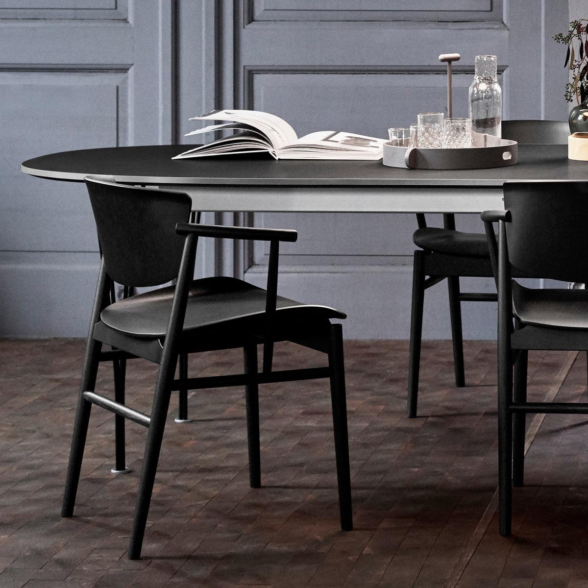 N01 Wooden Chair By Fritz Hansen Connox