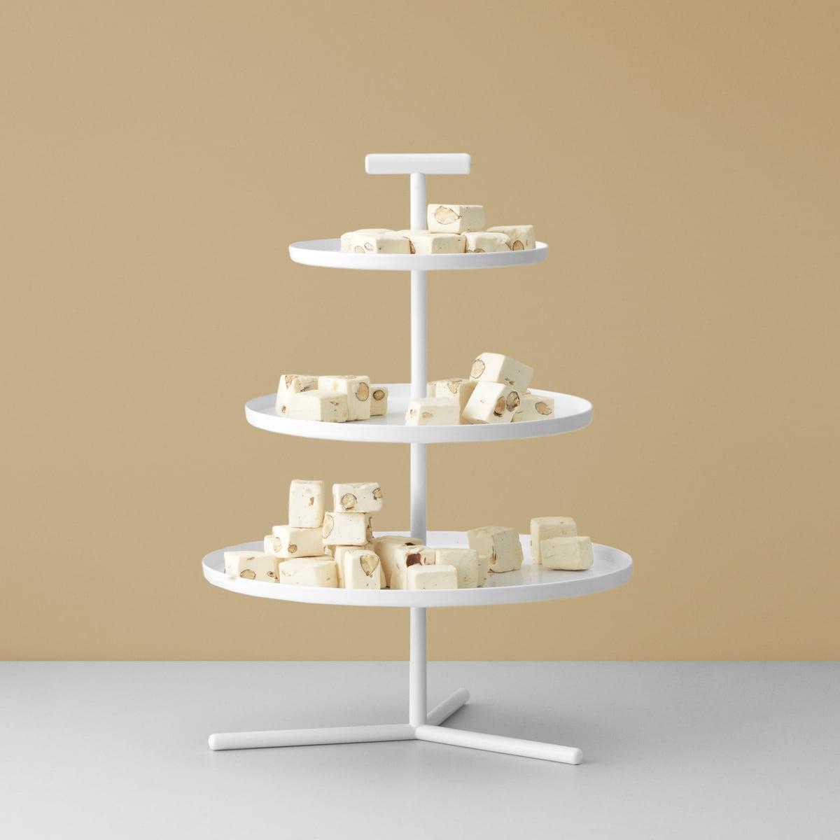 Glaze Tiered Cake Stand by Normann Copenhagen | Connox