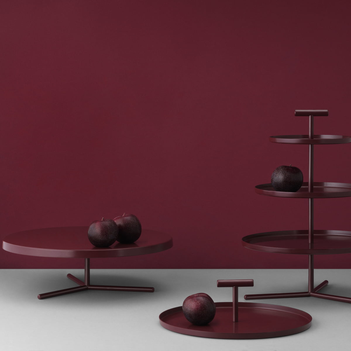 Glaze Cake Plate, Tiered Cake Stand And Tray By Normann Copenhagen