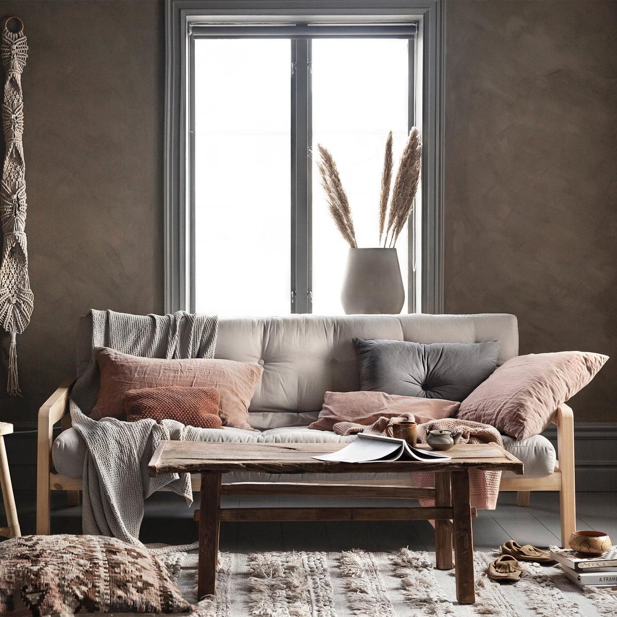 Karup Design - Grave sofa, natural / grey (746)
