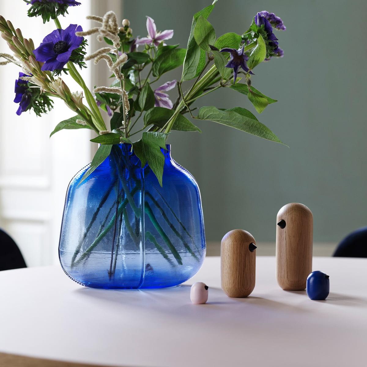 Klar 18 x 10 x 10 cm Out of the blue Spardose Glas