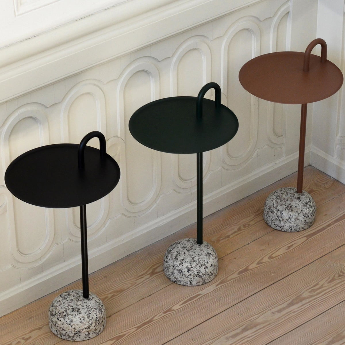 Hay Bowler Side Table.Hay Bowler Side Table O 36 Cm H 70 5 Cm Black