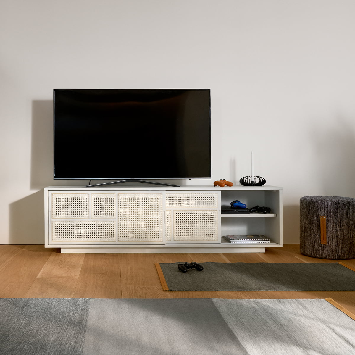 Design house stockholm   Air sideboard / tv console, black