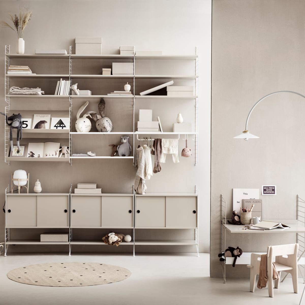 20 Cm String Shelf System Connox