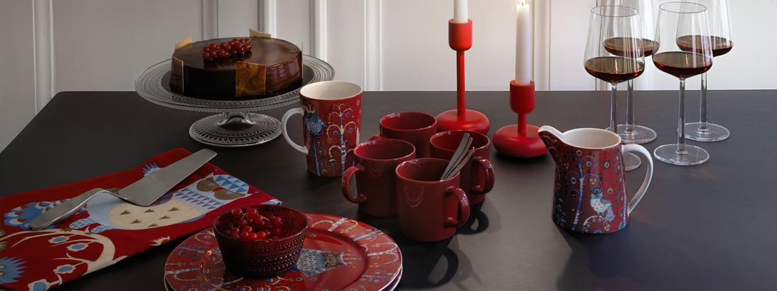 Banner Iittala collection, atmosphere image