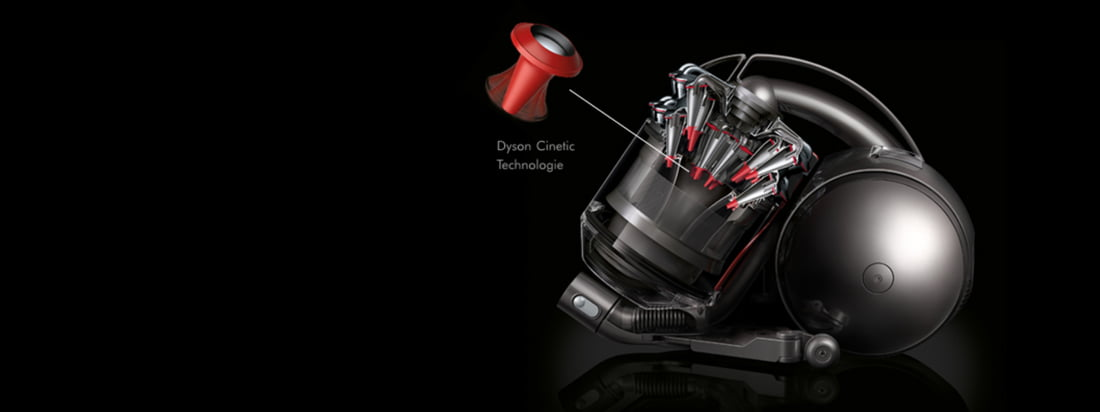 The British company Dyson produces Vacuum Cleaner like the bagless DC33c. All Vacuum Cleaner by Dyson convince through innovative, revolutionary technologies.