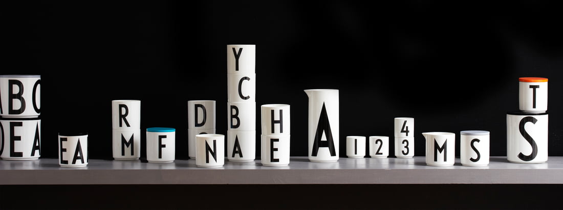 Design Letters - Arne Jacobsen Vintage ABC Collection - Header