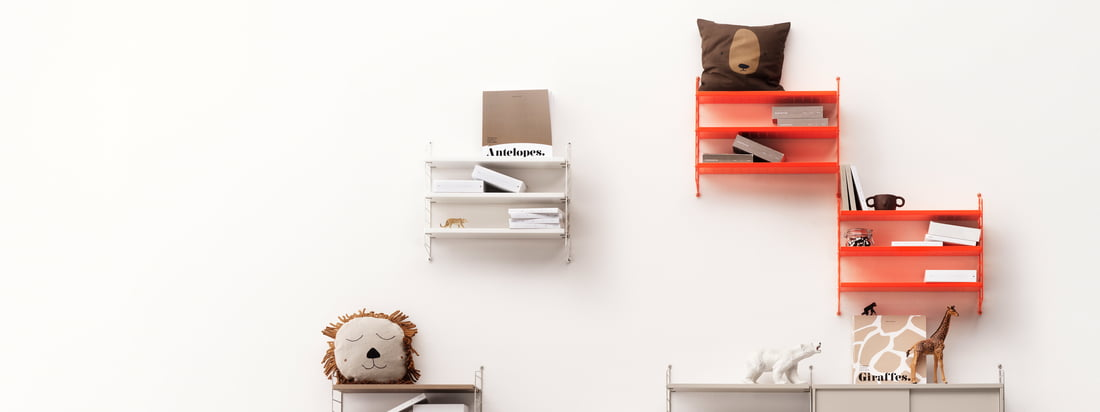 Connox Advent Calendar - Door 8 - String Pocket Wall Shelf