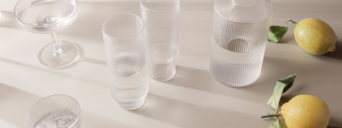 ferm Living - Ripple Tableware Series