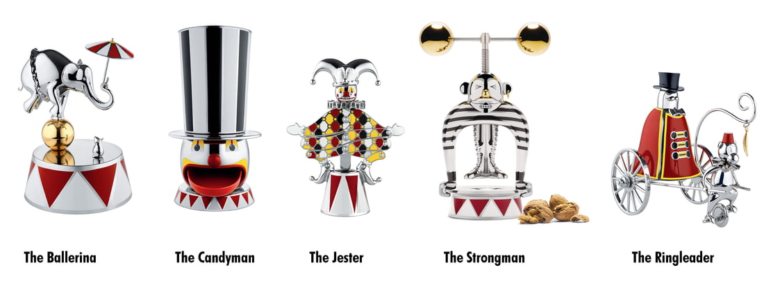 Circus Collection By Alessi In The Shop