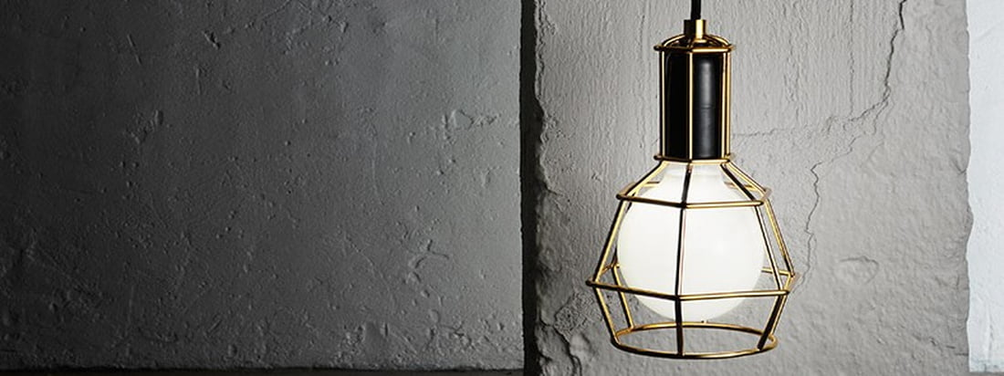 Design House Stockholm - Work Lamp gold