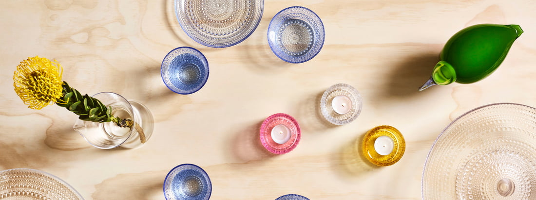 Iittala - Kastehelmi manufacturer's collection Banner