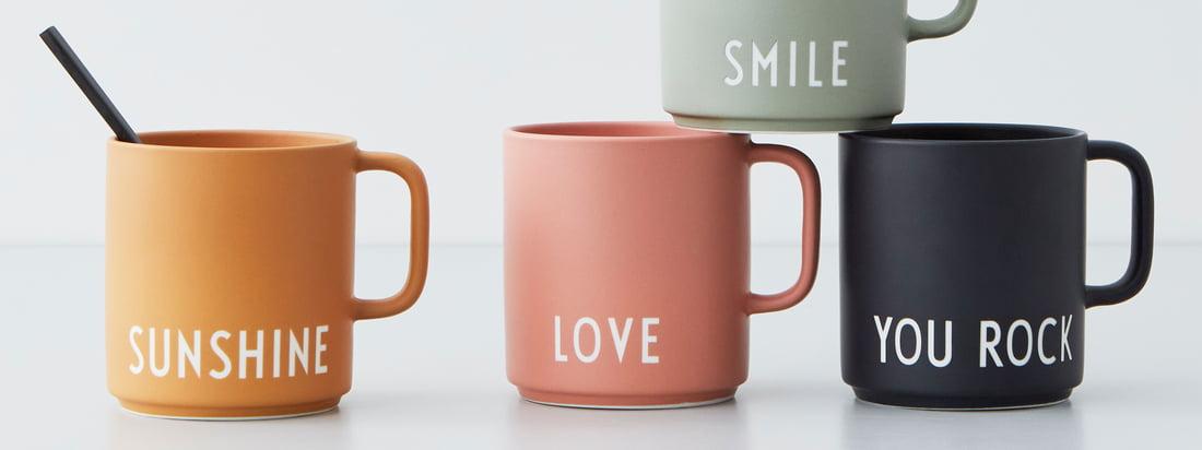 Design Letters - AJ Favourite Porcelain Mug