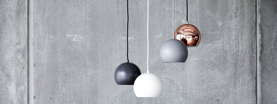 The Ball lamp series is a timeless classic of Scandinavian lighting design. Designed in 1986 by Benny Frandsen, the original design pursued a simple goal: to bring light into the darkness, and to do so in a stylish way.