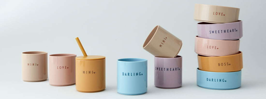DARLING, SWEETHEART or MINI - sweet cups made of pollutant-free, break-proof and very durable Tritan provide a glass-like look and a noble feel.