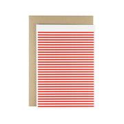 Karte - Stripetown Pop Greeting Card
