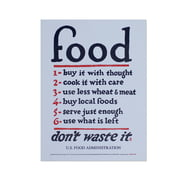 Holstee - Food Rules Poster