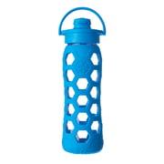 Lifefactory - Glass Bottle 0.6 l with Flip Top Cap