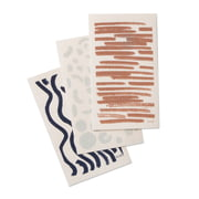 ferm Living - Brush Dish Cloths (set of 3)