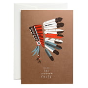 pleased to meet - The Chief Greeting Card