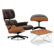Vitra - Lounge Chair & Ottoman - Cherry Wood