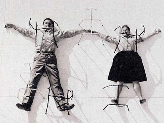 Charles & Ray Eames - Theme image designer couples