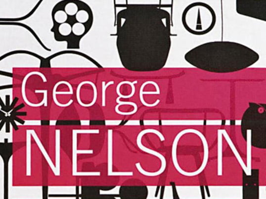 The book George Nelson: Architect-Writer-Designer-Teacher from the Vitra Design Museum covers all areas of Nelson's work, some of which only discussed for the first time here.